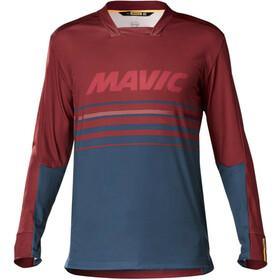 Mavic Deemax Pro maglietta a maniche lunghe Uomo rosso